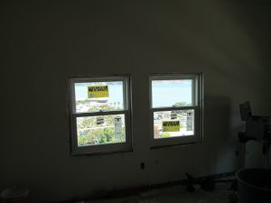Marvin Window Install in Historic Hotel