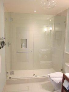 Custom Hotel Glass Shower Doors