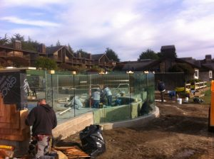 Bodega Bay Structural Glass Railing 10