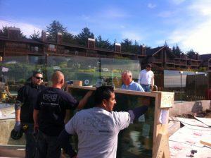 Coastal California Glass Rail Installations with Dupont SentryGlas