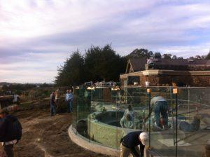 Bodega Bay Structural Glass Railing 9