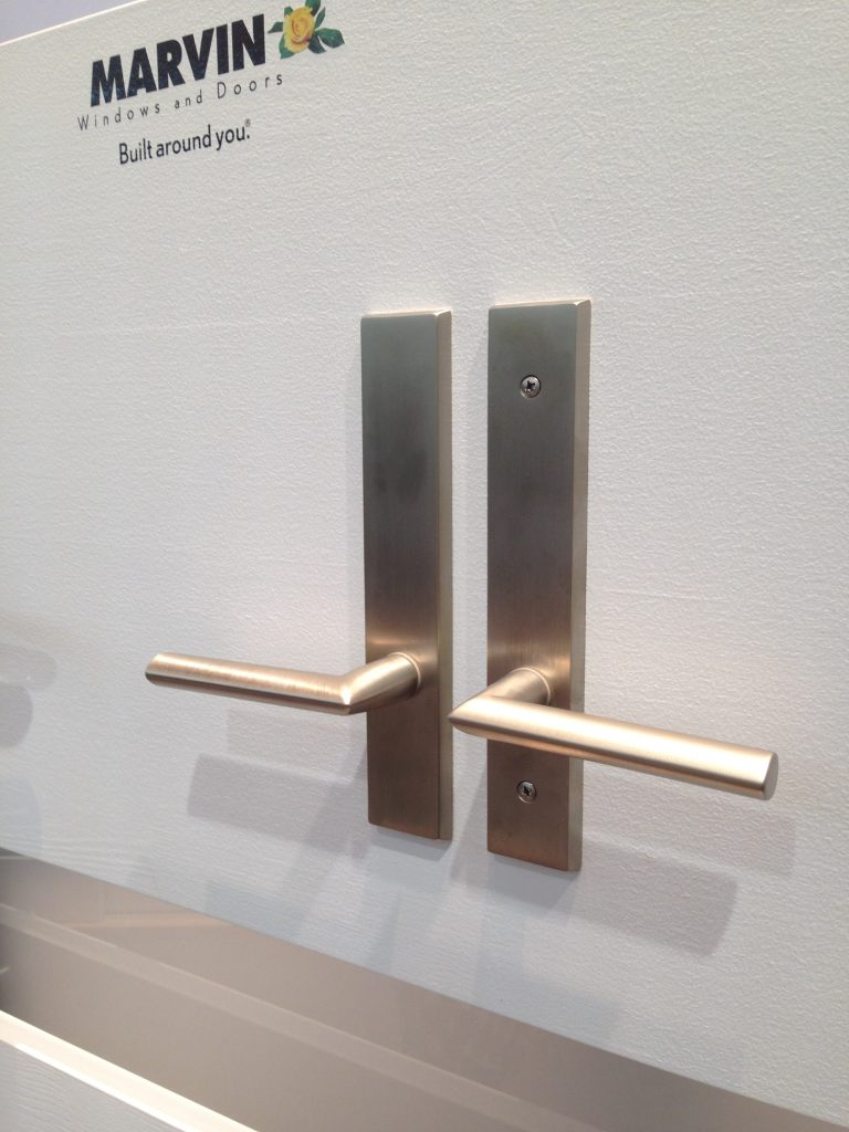 Marvin's Contemporary Hardware for Hinged Doors. Works on Inswing, Outswing, and Bifold Doors.